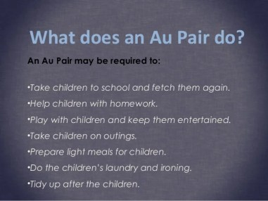 Image result for tips for au pairs