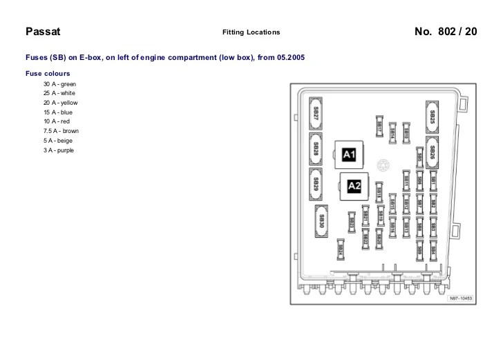 2003 Vw Passat Fuse Diagram  Wiring Library • Inswebco