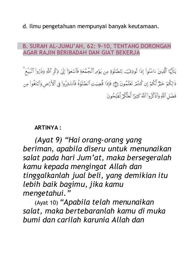 Qs Al Jumu'ah Ayat 10 : jumu'ah, Surat, Beserta, Artinya, Hukum, Tajwid, Quran, Jumuah, Lengkap, Cute766, Jumlah, Menggunakan, Sama.