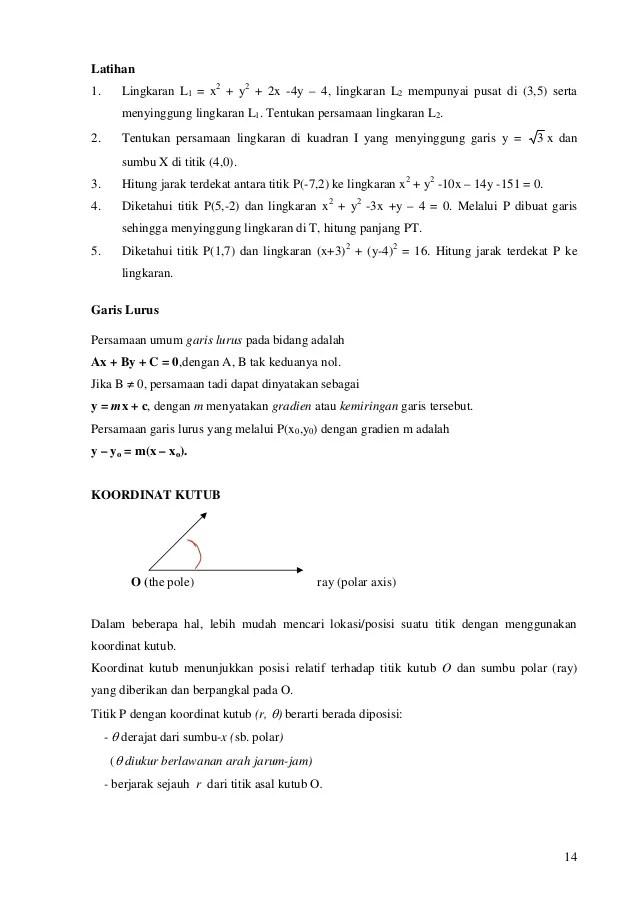 31/05/2021· contoh soal uts matematika kuliah semester 1 masih mempelajari dasar dasar matematika seperti di masa sekolah tetapi tentunya dengan cara mengajar yang berbeda dengan guru di sekolah kalian. Bahan Ajar Matematika Dasar Universitas