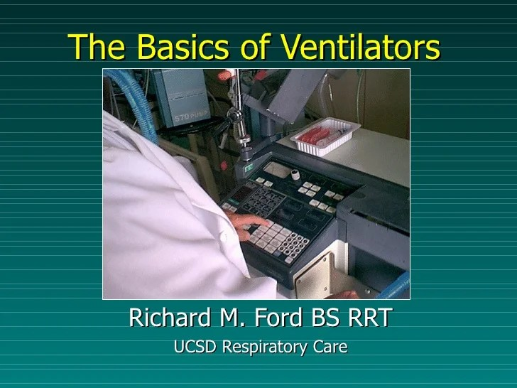 Basic Of Mechanical Ventilation