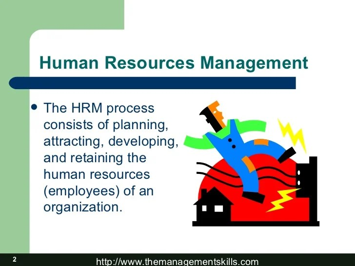 Basic of Human Resource Management