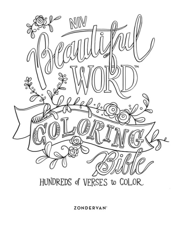 word coloring pages # 23