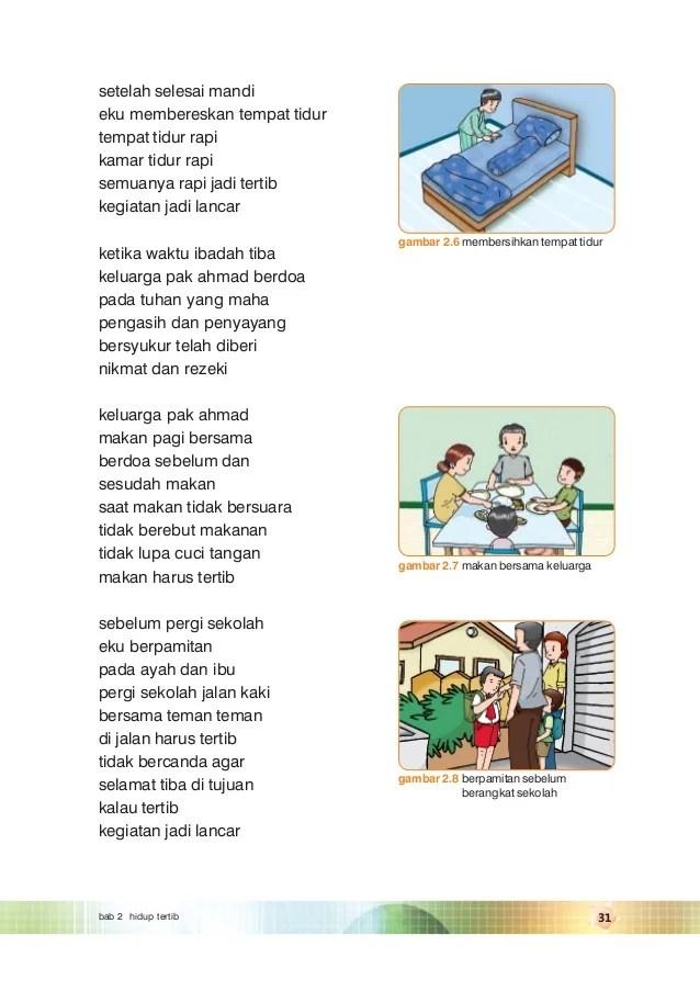 Gambar Kartun Anak Membaca Buku