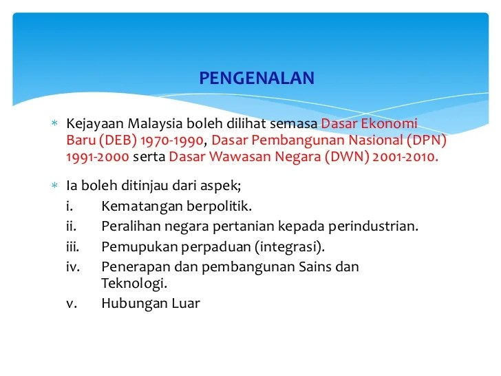 Pada artikel ini akan membahas ihwal pengertian sosiologi pembangunan… Pembangunan Dan Pemantapan Sosio Ekonomi Malaysia