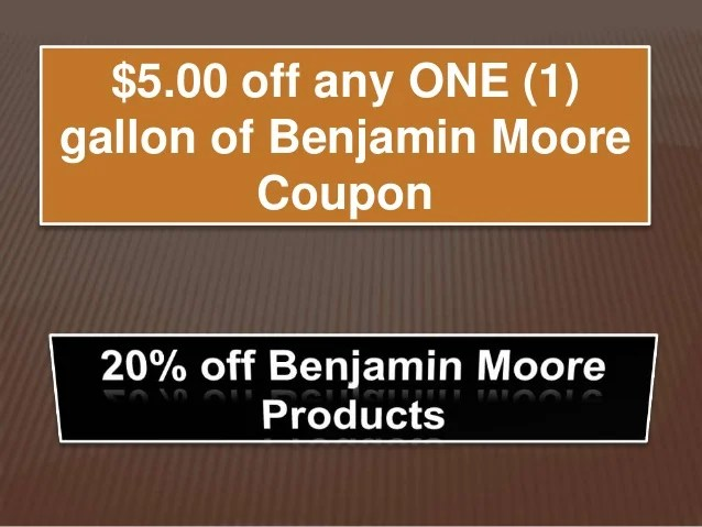 benjamin moore coupons on benjamin moore coupon id=57811