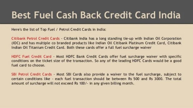 how to use credit card at petrol pump