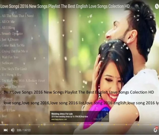 Best Love Songs 2016 New Songs Playlist The Best English Love Songs Colection Hd Love Song