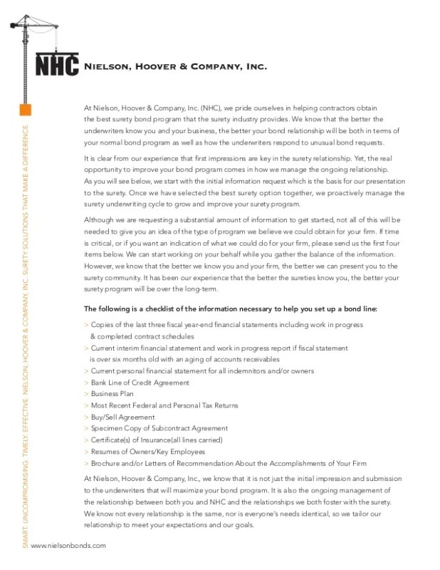 letter of surety   Howtoviews.co