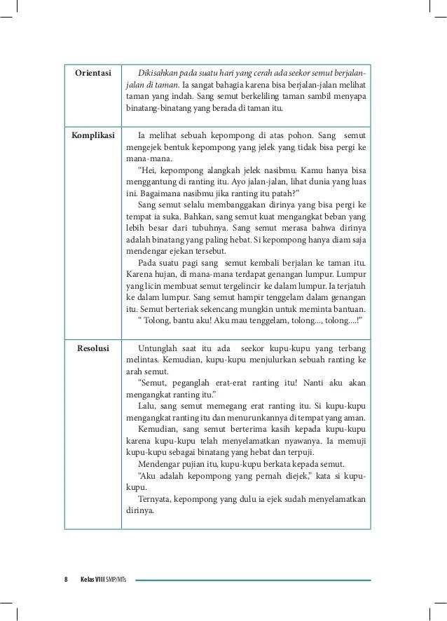 Contoh Cerita Fabel Smp Contoh Two Download Gambar Online
