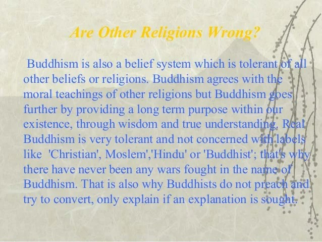 Buddhism Four Name Beliefs Basic