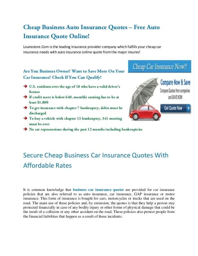 Insurance Online Quotes Auto