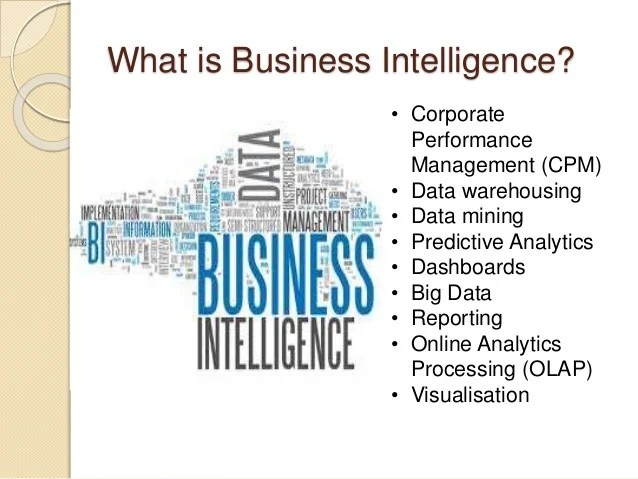 Overview of Business Intelligence