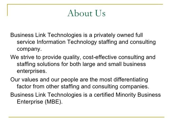 Business Link Technologies