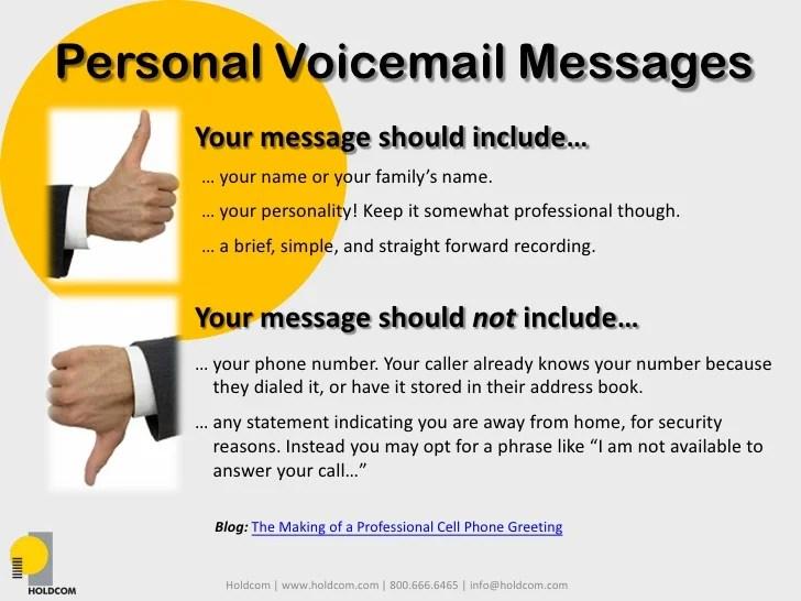 Professional Phone Greetings Samples