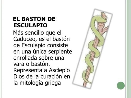 Image result for caduceo de esculapio