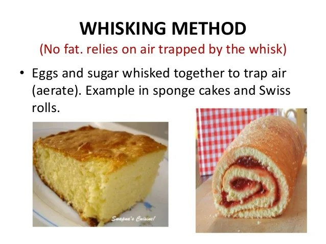 Types Cakes Made Melting Method