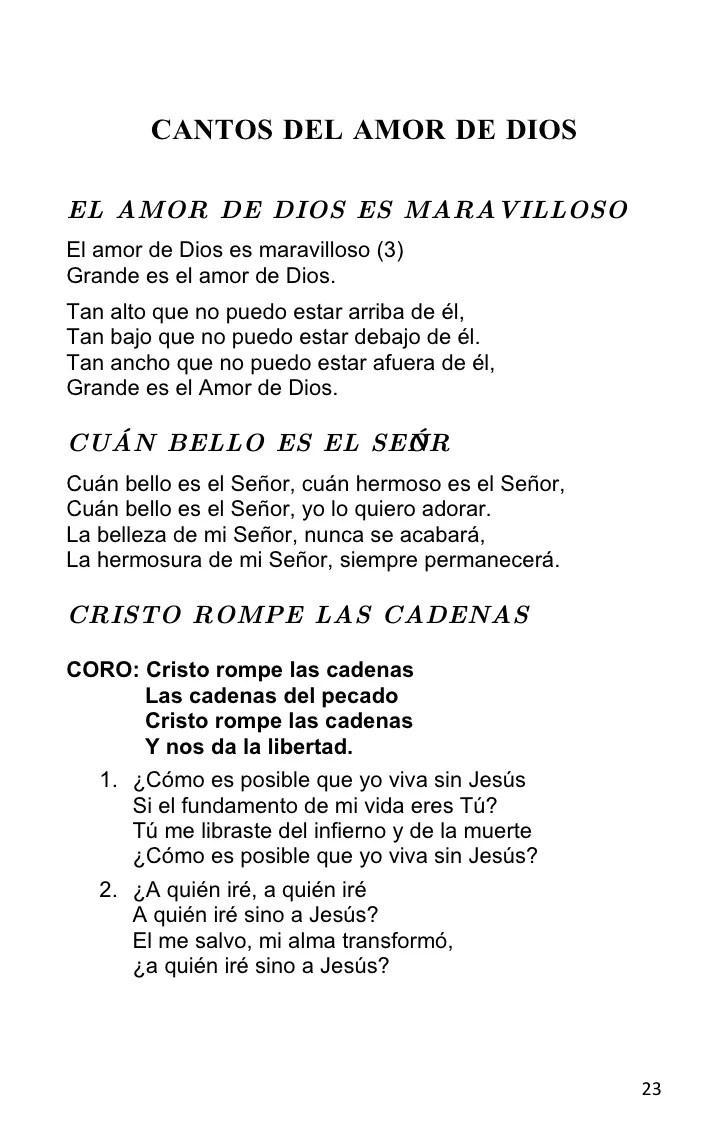 Cantos Catolicos De Alabanza Y Adoracion
