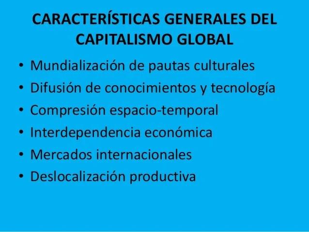 Resultado de imagen para capitalismo global