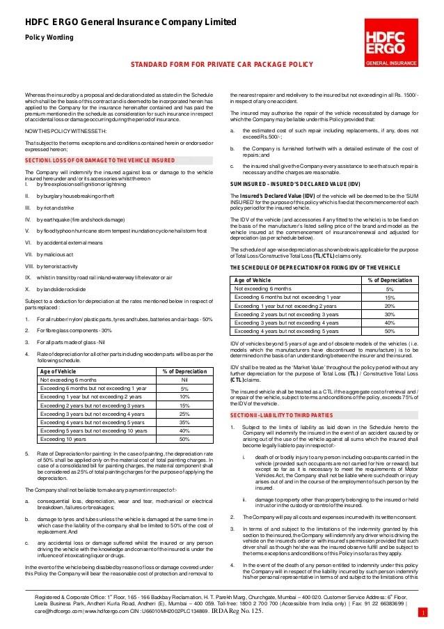 Icici Lombard Motor Insurance Claim Intimation