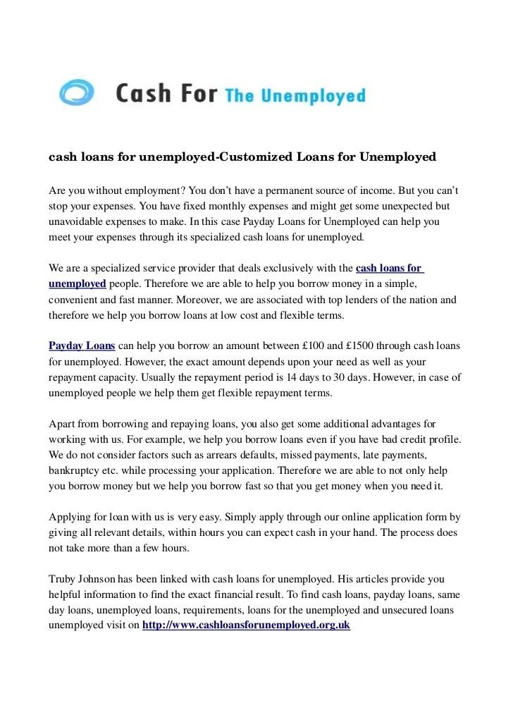 ways to accomplish cash advance mortgages