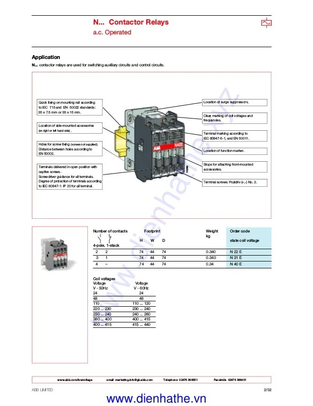 abb a5030 contactor wiring diagrams  schematic wiring