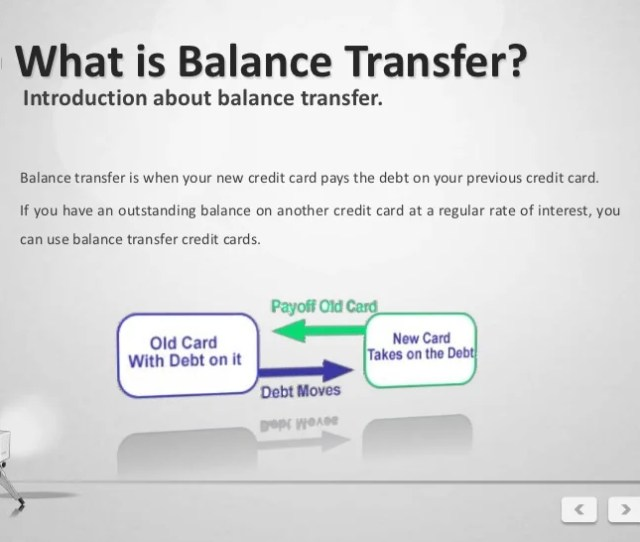 Balance Transfer Card Serve You 3