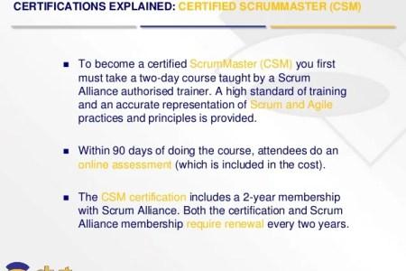 Free Resume Sample » scrum master certification online | Resume Sample