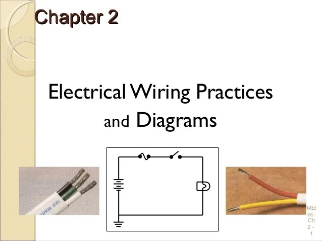 Electrical Wiring Practices and Diagrams