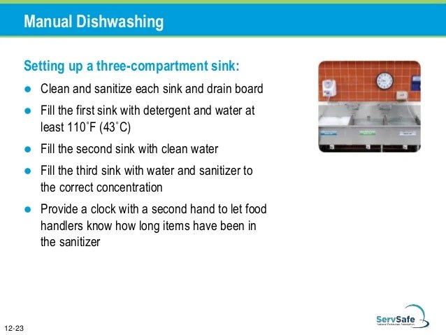 when washing tableware in a 3