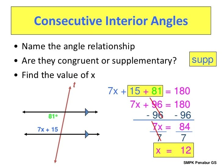 Are Alternate Interior Angles Congruent