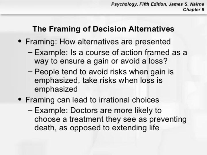 Definition Framing Psychology | Framess.co