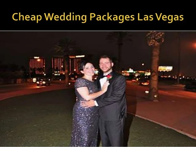 Affordable Wedding Packages Vegas
