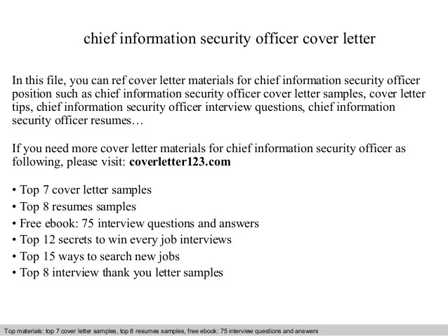 Top 8 Chief Information Security Officer Resume Samples In This File