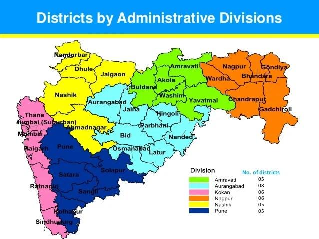 Map Maharashtra India