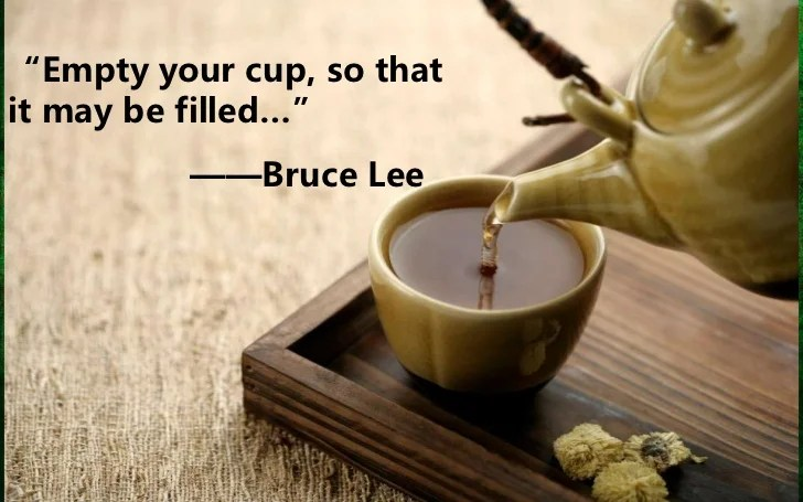 Image result for empty your cup