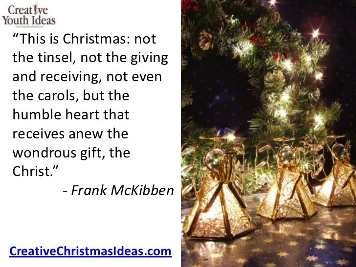 True Meaning Of Christmas Quotes – Merry Christmas And Happy New ...