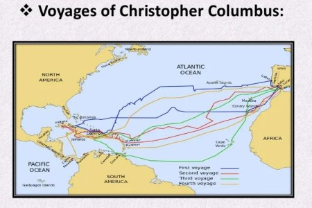 christopher columbus second voyage map » Path Decorations Pictures ...