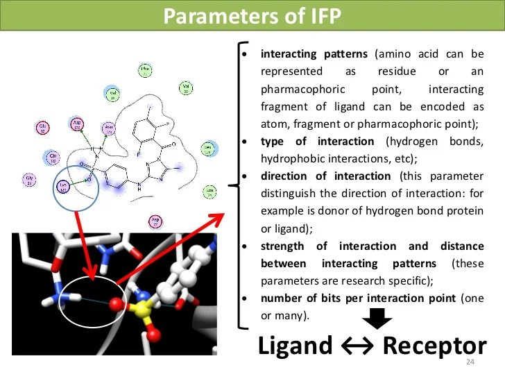 Interaction fingerprint: 1D representation of 3D protein ...