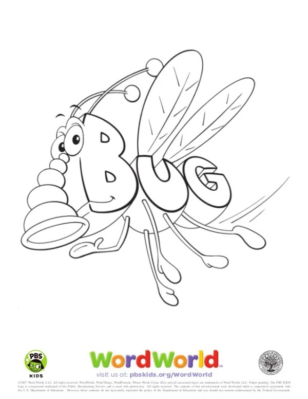 word world coloring pages # 5