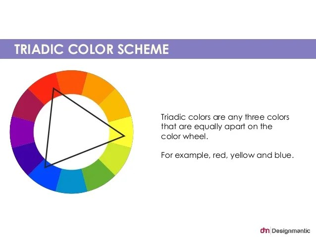 TRIADIC COLOR SCHEME Triadic Colors