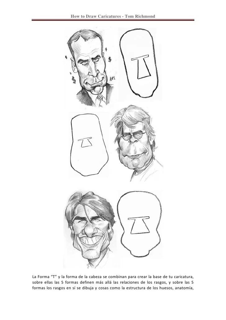 Caricaturas Personas Dibujar Como Para