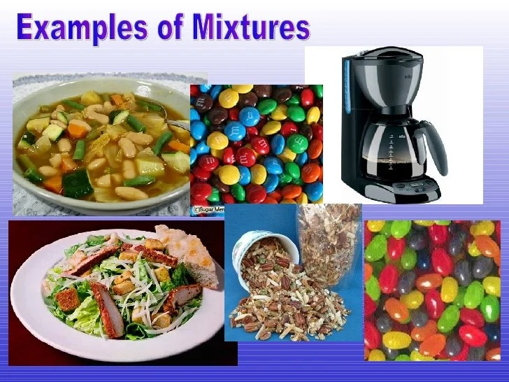 Examples Of Mixtures Doritrcatodos