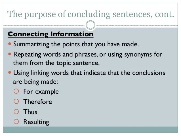 Transition Words Next Paragraph