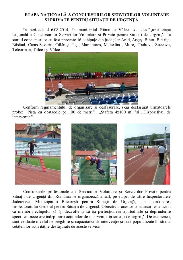 Concurs svsu spsu 2014