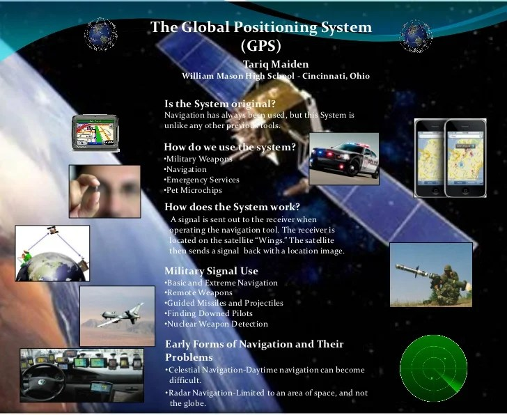 Poster: BDPA IT Showcase - 'Global Positioning System (GPS)'