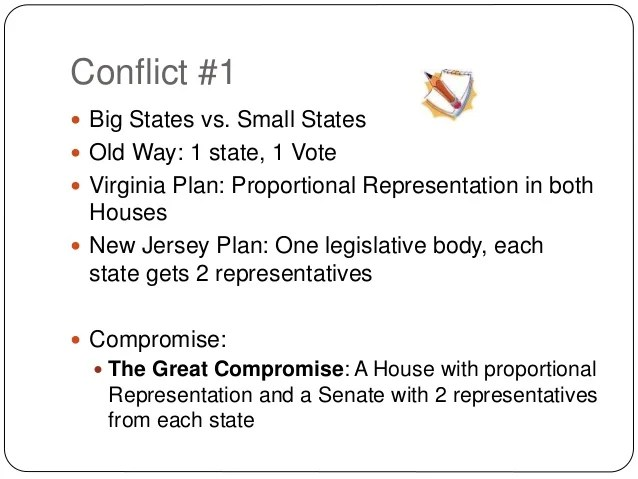 conflict and compromise thesis
