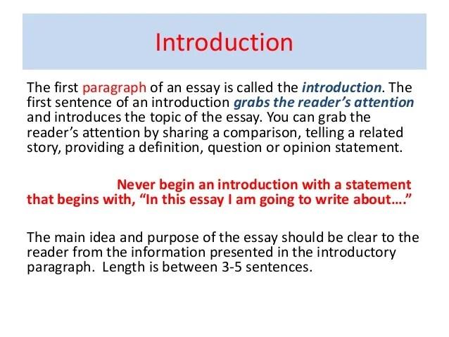 good opening sentences