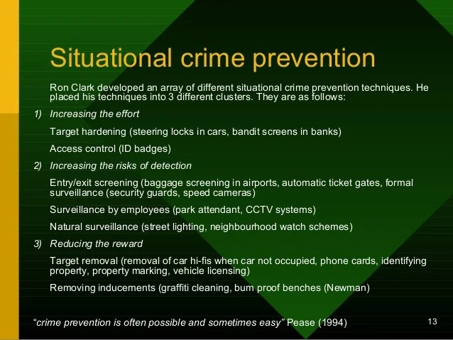 Contemporary Crime Reduction Strategies1stu