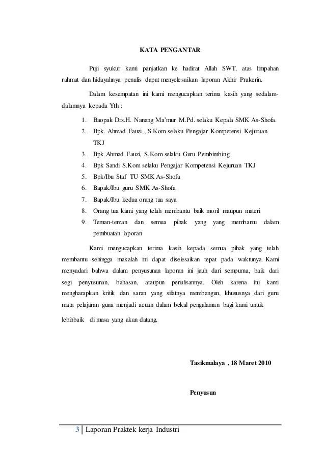 Contoh Cover Laporan Pkl Smk Akuntansi Kumpulan Contoh Makalah Doc Lengkap